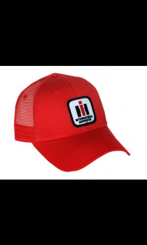 c8ede8ce International Harvester Logo Mesh Baseball Cap | redcrazy.com