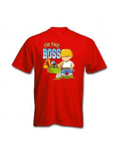 Damaged Case Im The Boss T-Shirt