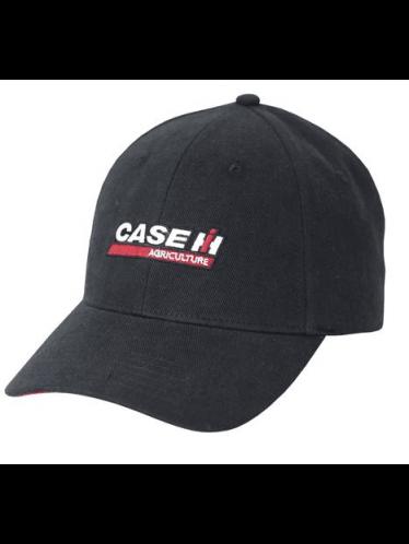 Case IH Washed Black Logo Cap