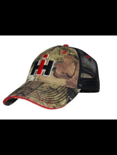 IH Raised Logo Mesh Baseball Cap