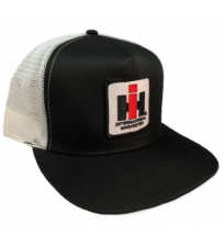 DAMAGED IH Mesh Trucker Cap - Black/White
