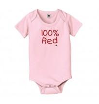 IH 100 Percent Red Onesie