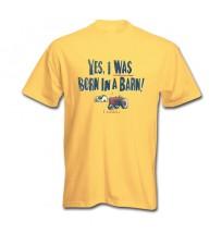 IH Farmall Yes I Was Born In A Barn T-Shirt