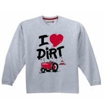 IH I Love Dirt Long Sleeve T-Shirt