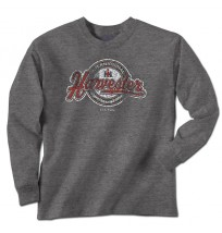 IH Harvester Script Tail Long Sleeve T-Shirt
