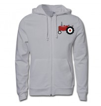 Farmall Red Tractor Zip Up Hoodie