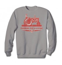 IH Farmall Farming For A Living Sweatshirt
