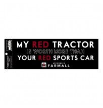 IH Farmall My Red Tractor Bumper Sticker