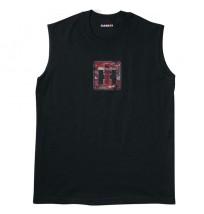IH Red Camo Logo Muscle Shirt