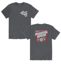 IH Men's Charcoal Proud To Be American T-Shirt