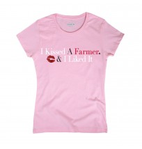 Case IH I Kissed a Farmer Short Sleeve Tee