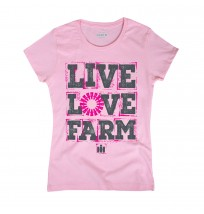 Case IH Live Love Farm Short Sleeve Tee