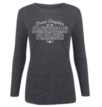 IH Proud Daughter American Farmer Long Sleeve T-Shirt