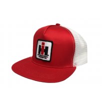 IH Mesh Trucker Cap - Red and White
