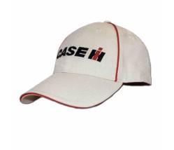 Case IH Red Piping Baseball Cap