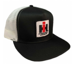 DAMAGED IH Mesh Trucker Cap - Black/White