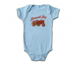 IH Farmall Boy Onesie