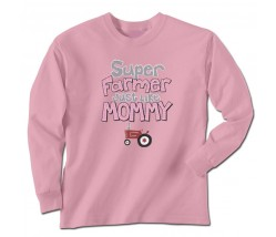 IH Super Farmer Like Mommy Long Sleeve T-Shirt