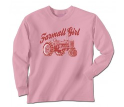 Farmall Girl Long Sleeve T-Shirt
