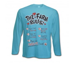 IH The Farm Rules Long Sleeve T-Shirt