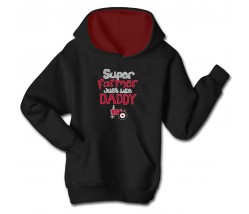 IH Super Farmer Like Daddy Hoodie