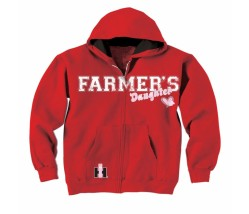 IH Farmer's Daughter Zip Up Hoodie