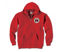 IH Glitter Circle Zip Up Hoodie