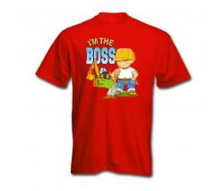 Case Im The Boss T-Shirt