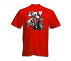 National Tractor Pullers Association Ready to Pull T-Shirt