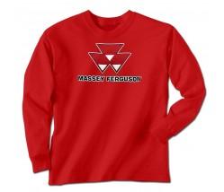 Massey Ferguson Men's Logo Long Sleeve T-Shirt