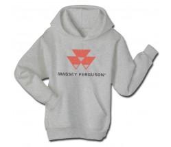 Massey Ferguson Men's Worn Logo Hoodie