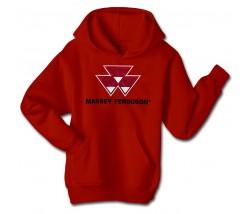 Massey Ferguson Men's Applique Logo Hoodie