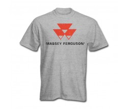 Massey Ferguson Men's Worn Logo T-Shirt