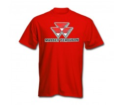 Massey Ferguson Men's Shadow Logo T-Shirt