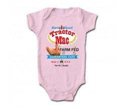 IH Tractor Mac Guaranteed Cute Onesie