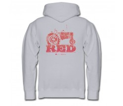 IH Farmall Red Tractor Zip Up Hoodie