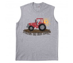 Case IH Plays In The Mud Muscle Shirt