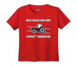 Case IH Red Tractor Boy T-Shirt