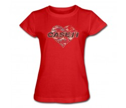 Case IH Red Camo Heart T-Shirt