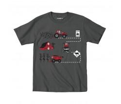 Case IH Farm Route T-Shirt