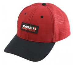 Case IH Two Tone Patch Logo with Vented Rear Panels Baseball Hat