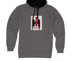 DAMAGED Men's International Harvester Logo Performance Pullover Hoodie